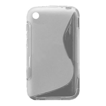 Imagen de PROTECTOR TPU PARA BLACKBERRY 9220 EN COLOR TRANSPARENTE