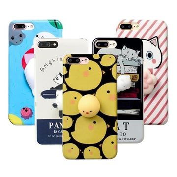 Imagen de PROTECTOR SQUISHY PARA IPHONE 7 PLUS  OSO POLAR/8 PLUS